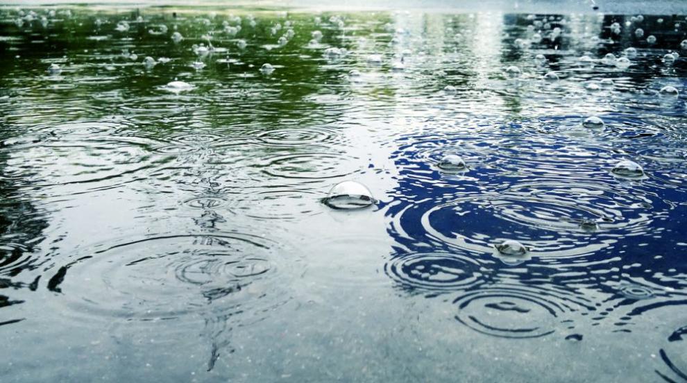 Наводнени улици, съборени клони и закъсали автомобили след проливния дъжд...