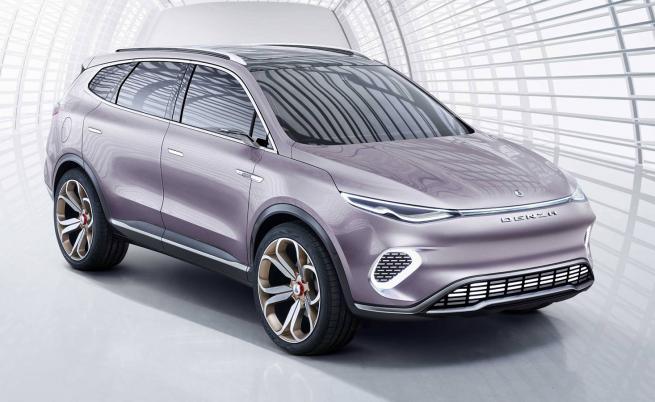 Mercedes направи евтин електрически ЕQC за Китай