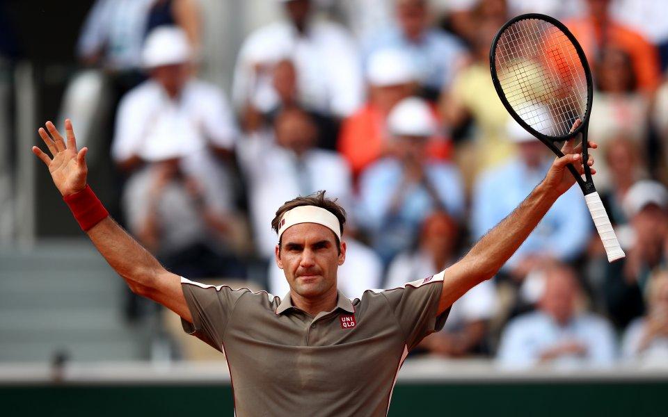 """Роджър Федерер обеща, че ще бъде """"безстрашен"""", когато излезе да"""