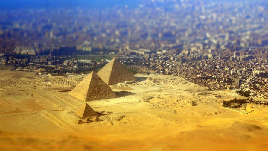 <p><strong>Египет отвисоко </strong>- кадри, които ще ви впечатлят</p>
