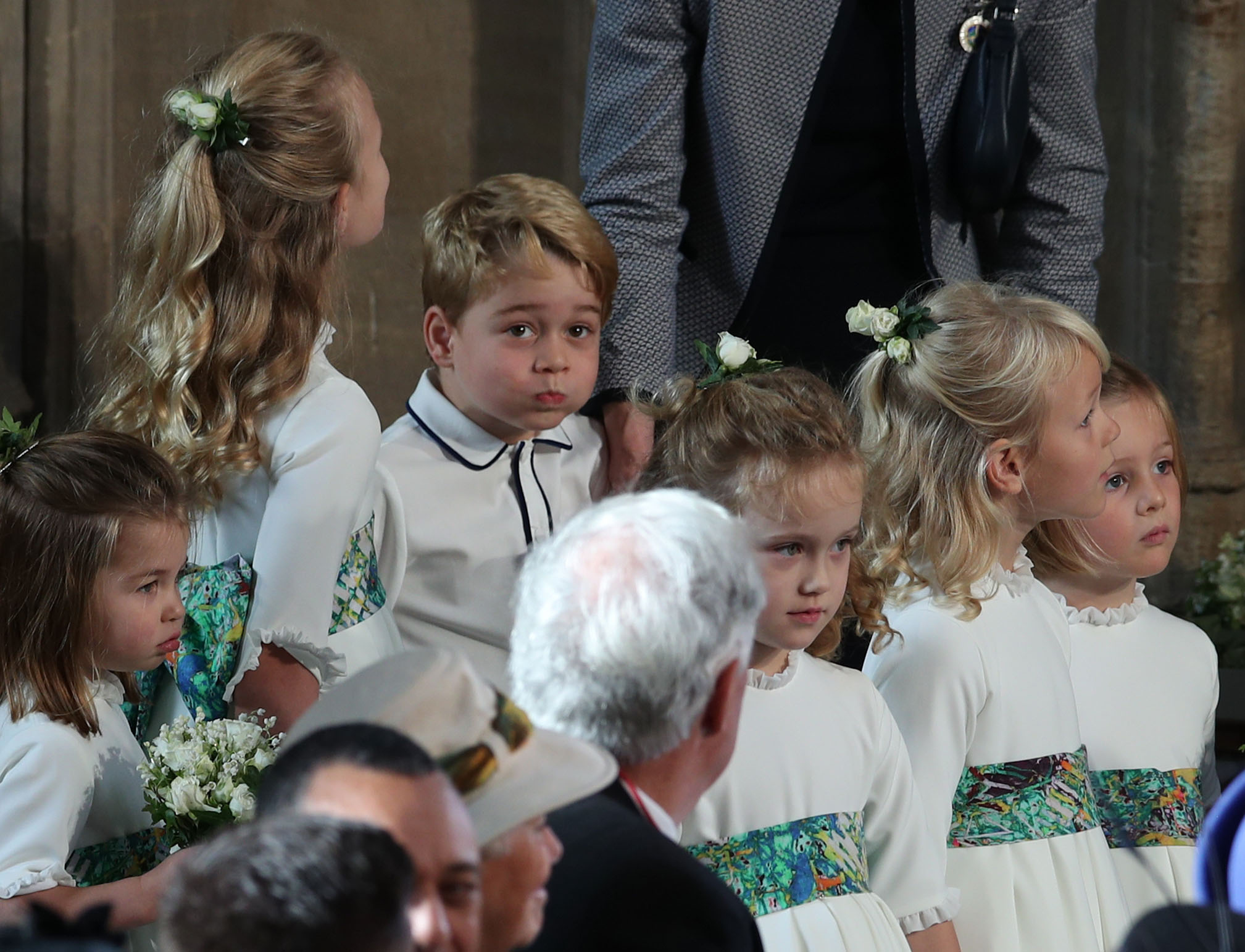 Принц Джордж, Великобритания, 5-годишен<br /> Принц Джордж е най-голямото от трите деца на принц Уилям и херцогинята на Кеймбридж Катрин. Петгодишният принц е трети поред наследник на британския престол след дядо си принц Чарлз и баща си. По-малките сестра и брат на принц Джордж, принцеса Шарлот и принц Луи, са съответно четвърта и пети поред сред наследниците на трона.