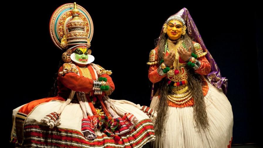 """Индийският танц с очи - """"катакали"""""""