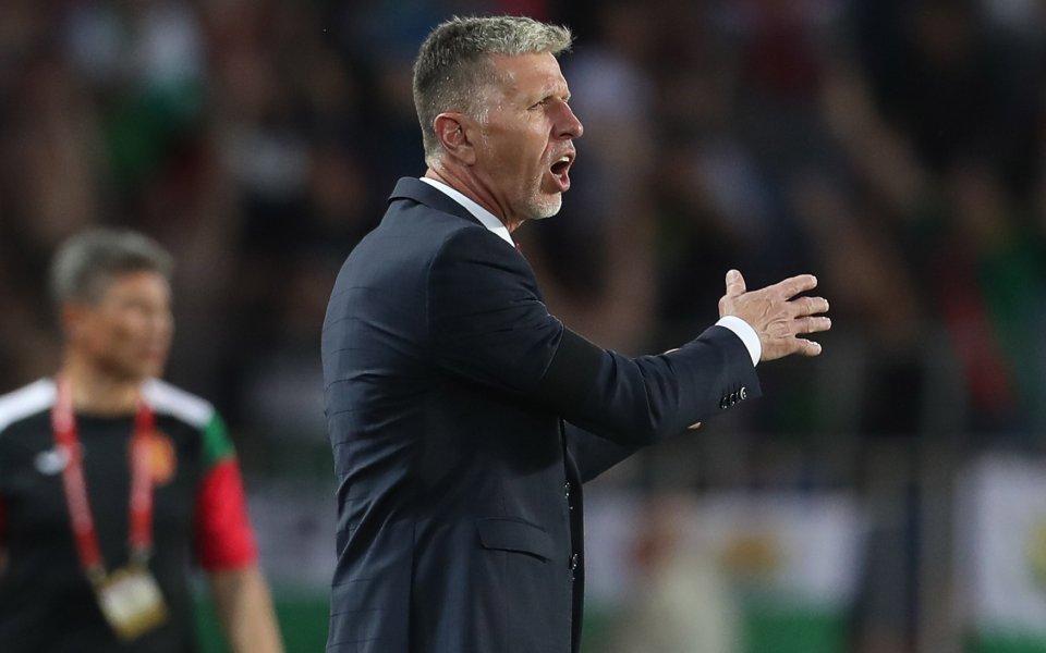 Треньорът на Чехия: Показахме характер