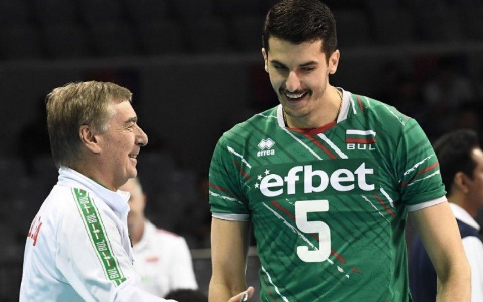 Светослав Гоцев: Във Варна и въздухът предразполага към волейбол на световно ниво