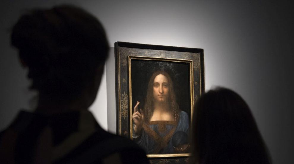 """Най-скъпата картина в света """"се люлее"""" окачена в саудитска яхта"""