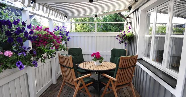 Балконът не е само място за съхранение на стари и