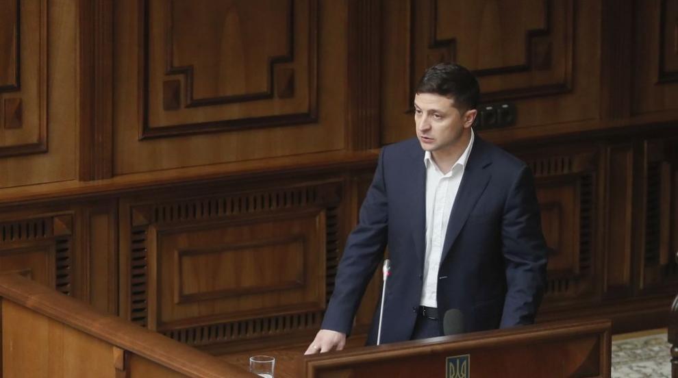 Противници на украинския президент протестират в Киев