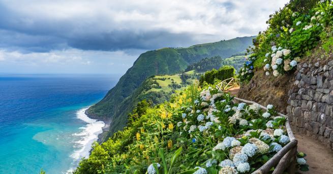 Любопитно Азорските острови – перла в сърцето на океана Място,