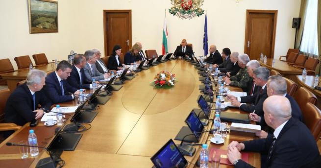 Под председателството на премиера Бойко Борисов се проведе редовно заседание