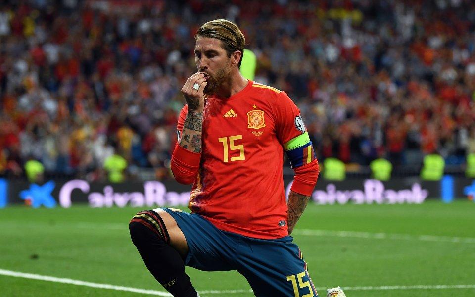 Серхио Рамос: Целта ми е да изиграя 200 мача за Испания
