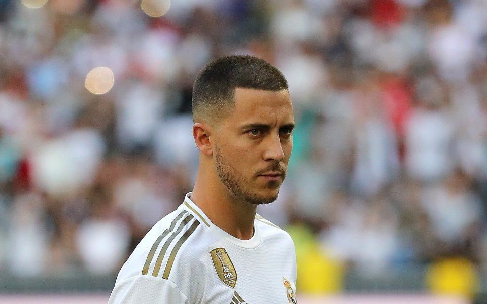 Новото попълнение на Реал Мадрид Еден Азар заяви, че ще