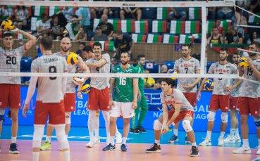 Волейболният сблъсък България - Италия в снимки