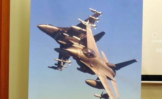 САЩ официално предложиха договор за споразумение за 8 изтребителя F-16 Block 70