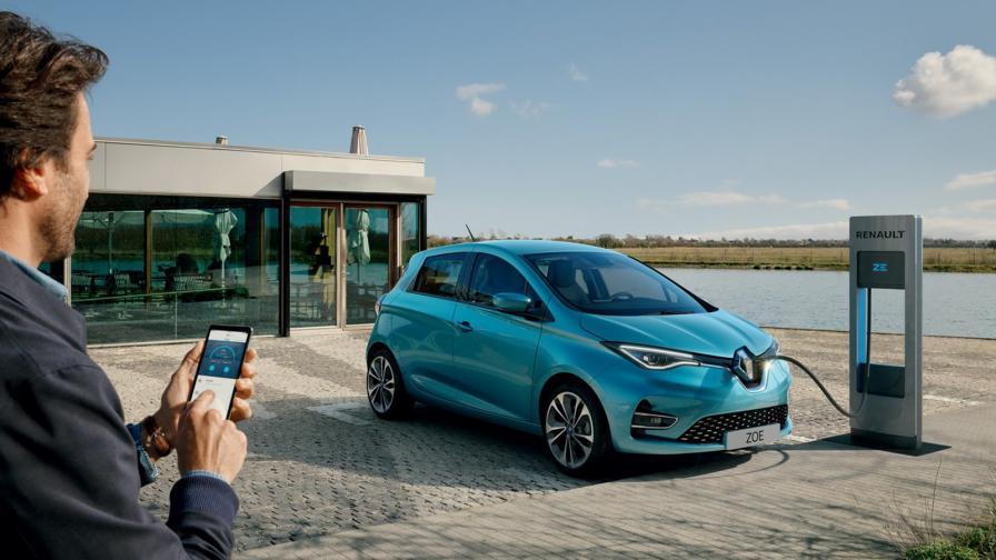 <p>Новото Renault Zoe с близо 400 км пробег</p>