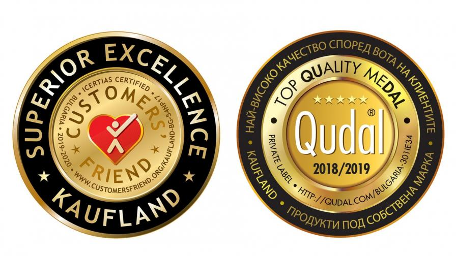 <p>Kaufland България с два международни златни медала</p>