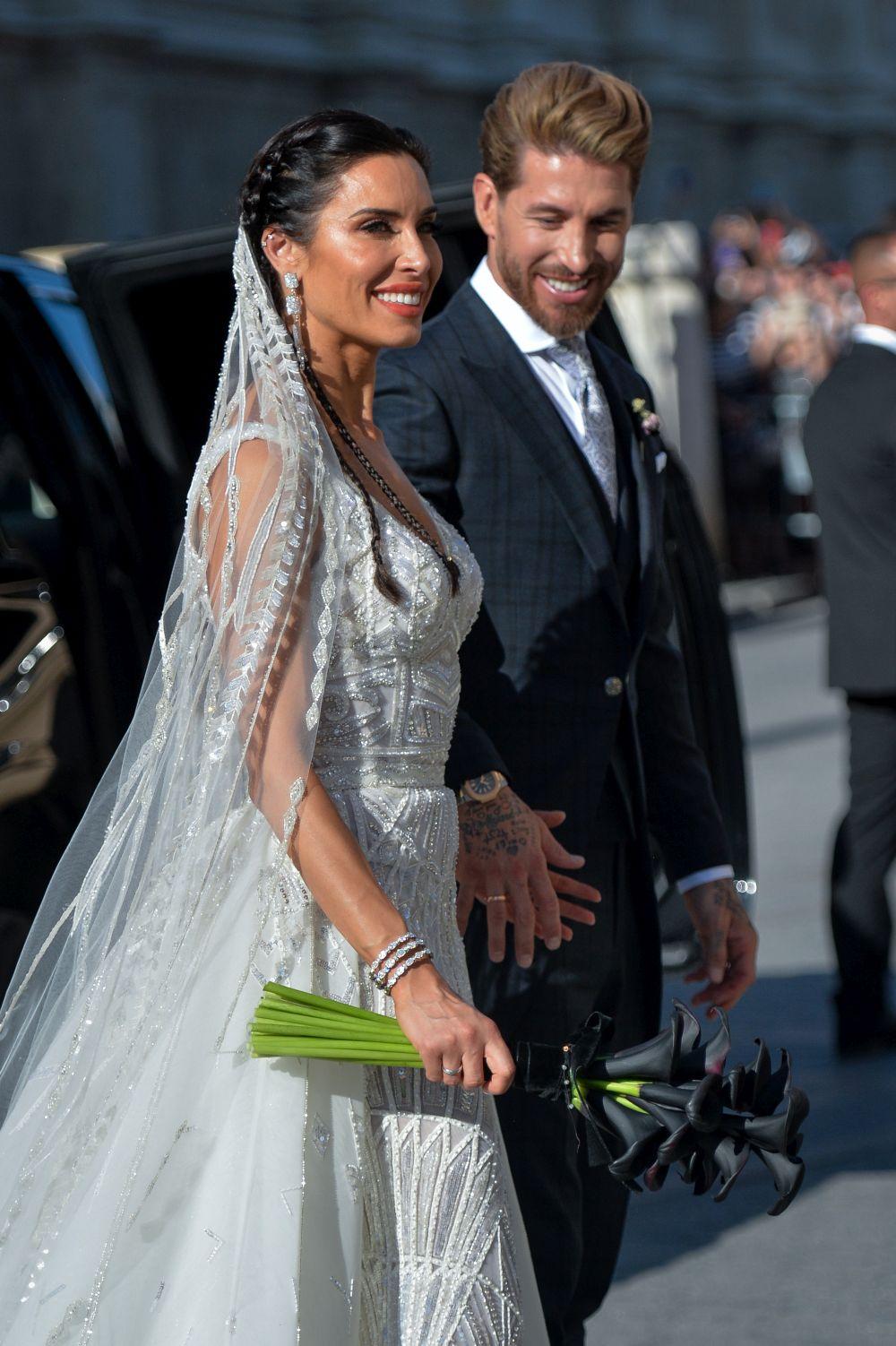 Звездната сватба на Пилар Рубио и Серхио Рамос