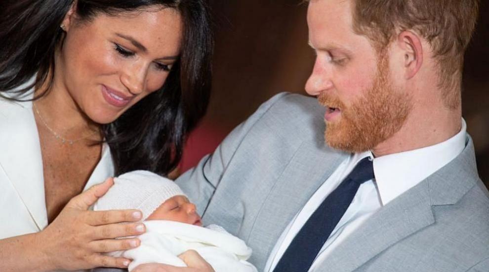 Принц Хари и съпругата му Меган кръстиха сина си Арчи в тесен семеен кръг