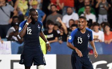 Франция триумфира след късен обрат в луд мач с Англия на Европейското до 21г.
