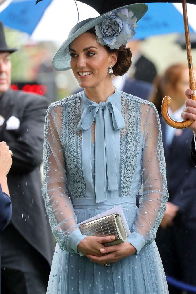Херцогиня Кейт привлече внимание на Royal Ascot