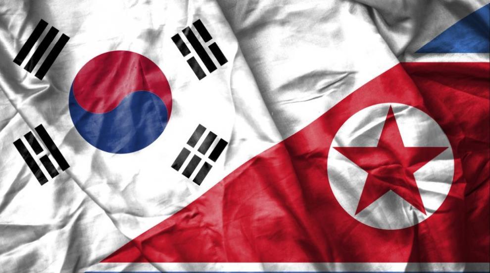 Украсиха заведение в Южна Корея със севернокорейското знаме (СНИМКА)