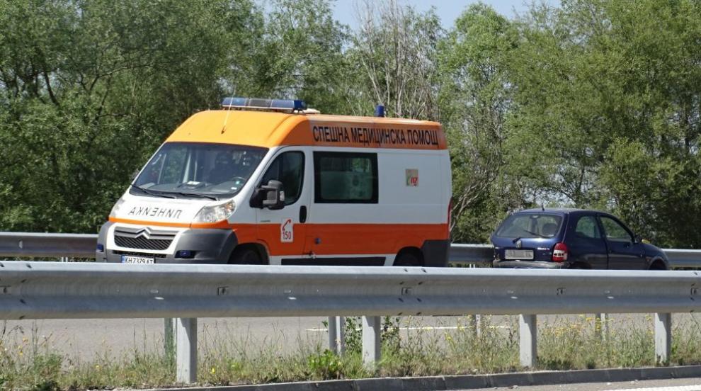 Катастрофа със загинала жена и ранено дете на пътя Варна-Дуранкулак