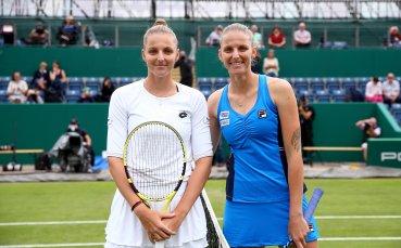 Кристина победи фаворитката Каролина в първата WTA среща на сестри Плишкови