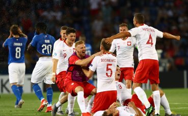 Домакинът Италия загуби от Полша на Европейското до 21 години