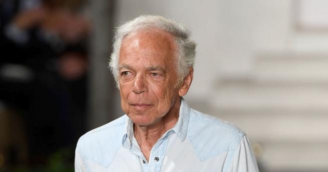 Американският дизайнер Ралф Лорън стана носител на Ордена на Британската