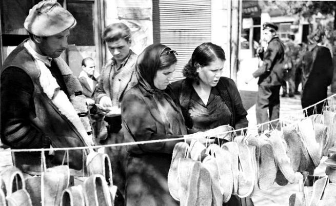 Пазар на терлици, 1947г.  Фотограф: Тодор Славчев