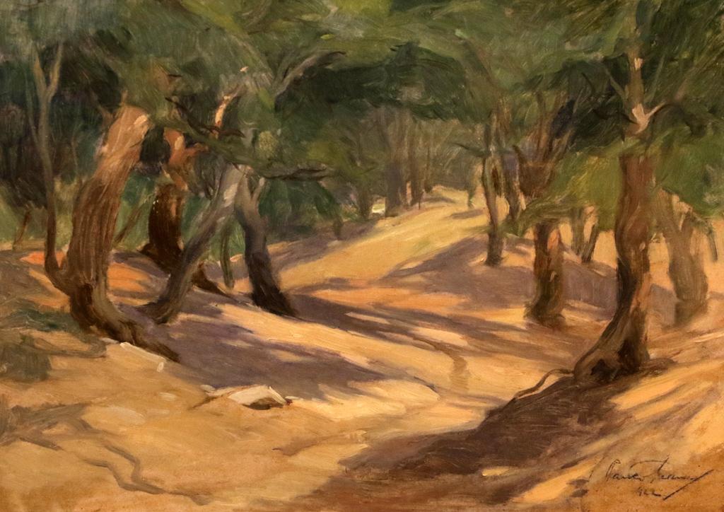 Пейзаж 1922г.