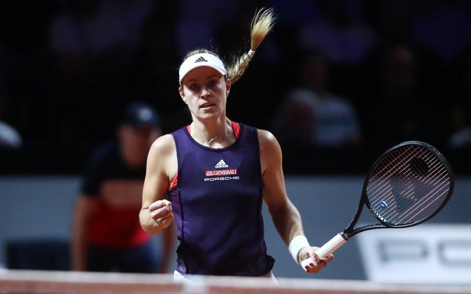 Шампионката от Уимбълдън 2018 Анжелик Кербер постигна девета поредна победа