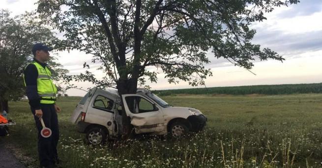 Шофьор загина при катастрофа в Шуменско. Инцидентът е станал край