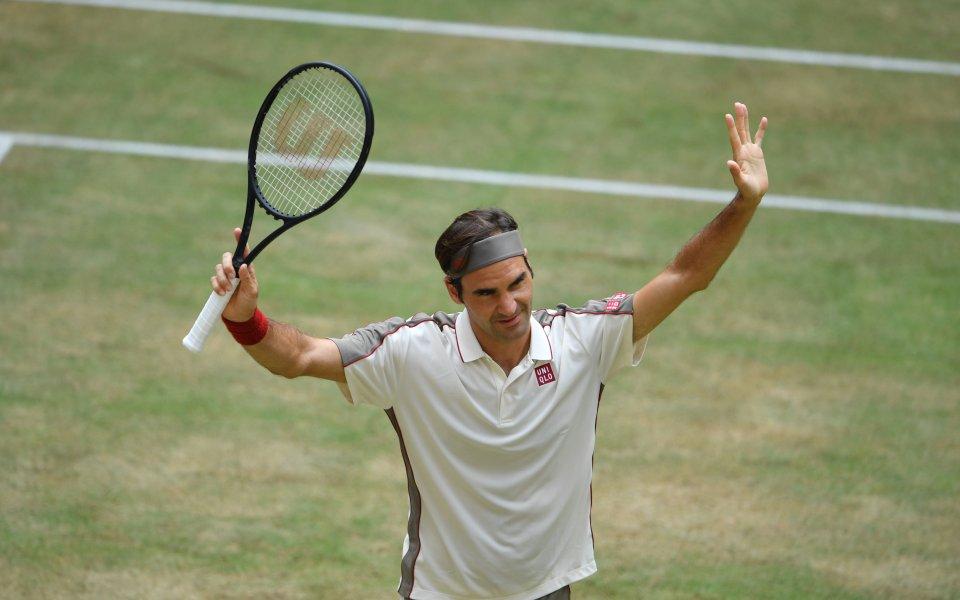 Федерер за 13-и път на финал в Хале