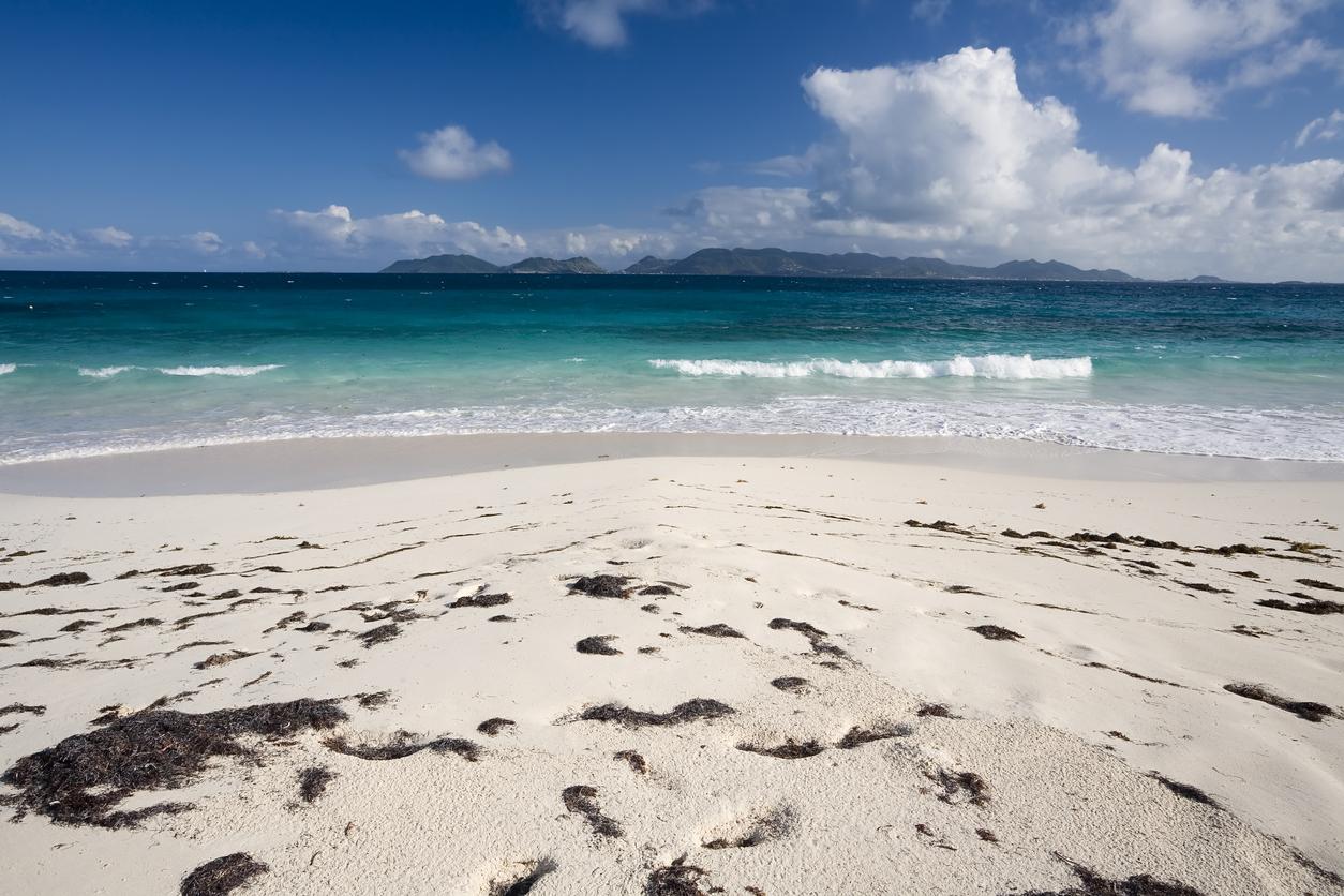 Ангила е остров в източната част на Карибско море и самоуправляваща се задморска територия на Великобритания. Плажът Maundays Bay е известен с кристално чистата си вода, плавния наклон и девствен пясък, както и с формата си на перфектна лунна дъга.