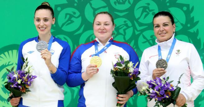 Антоанета Бонева спечели втори медал за България от Европейските игри