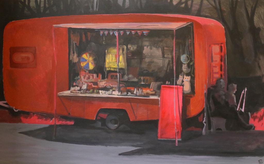 """Галерия """"Нюанс"""" и Resume 13 представят Ангеларий Димитров: """"Места на липса, места на изобилие…"""" живопис Caravan 2018"""
