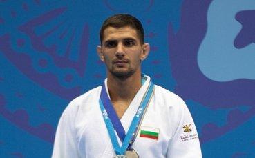 Ивайло Иванов със сребро от Европейското по джудо