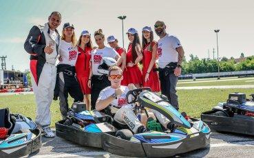 Сани Жекова впечатли с картинг уменията си на 12 часа на България