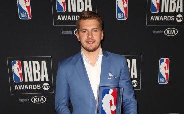 Словенският талант Дончич е Новобранец на годината в НБА
