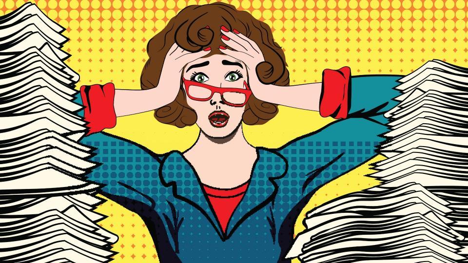 жена работа стрес