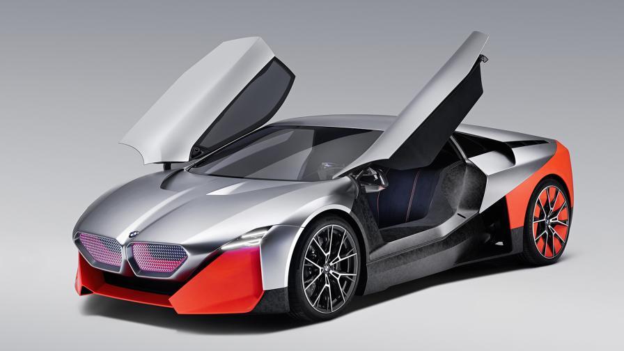 Vision M NEXT представя бъдещето на BMW: ток и емоции