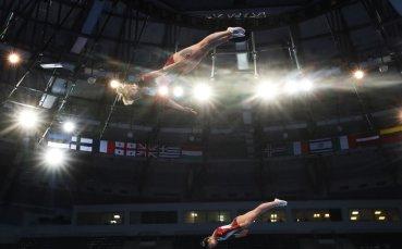 Мариела и Христина Пеневи завършиха на 7-о място в синхронните скокове на батут