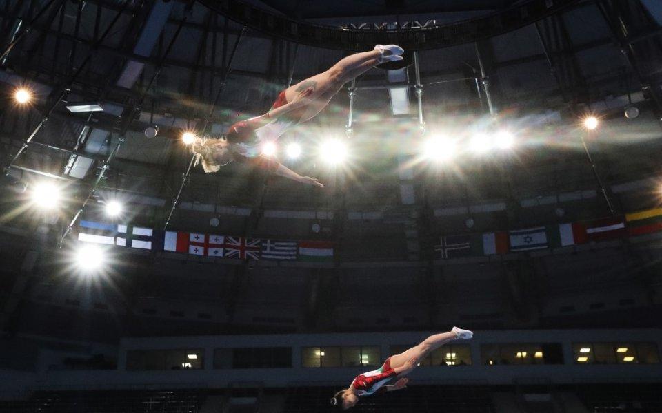Мариела Пенева и Христина Пенева завършиха на седмо място в