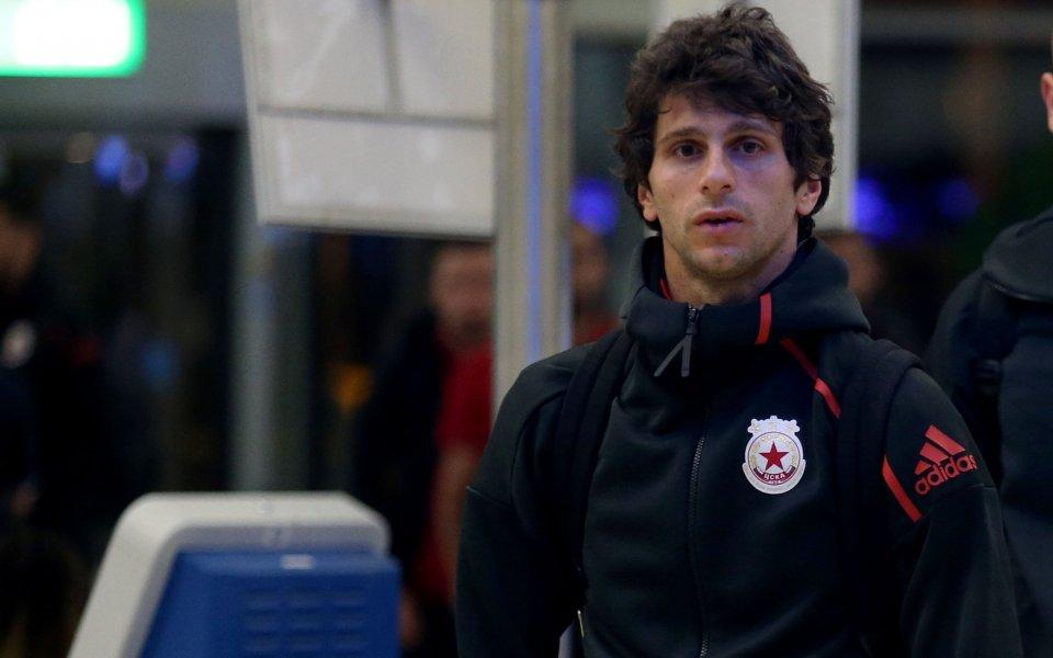 Дошлият с огромни очаквания в ЦСКА италиански плеймейкър Диего Фабрини