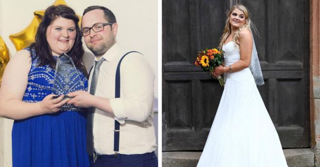 Любопитно Жена свали 30 кг за 4 месеца за сватбата