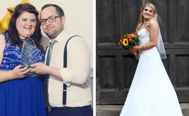 Жена свали 30 кг за 4 месеца за сватбата си