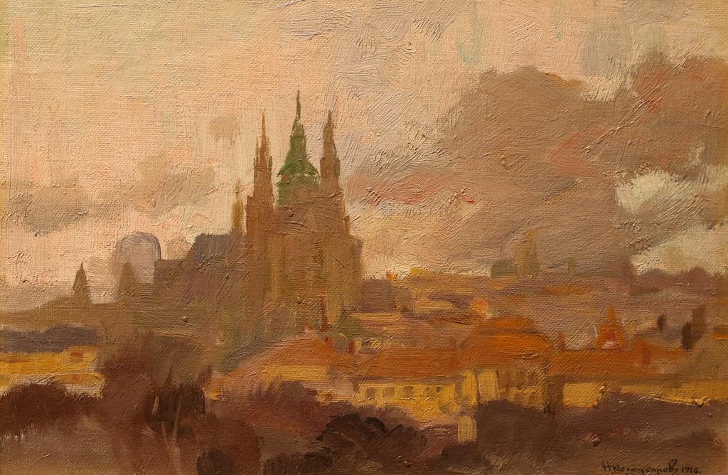 Никола Кожухаров (1892 – 1971) Прага, 1926