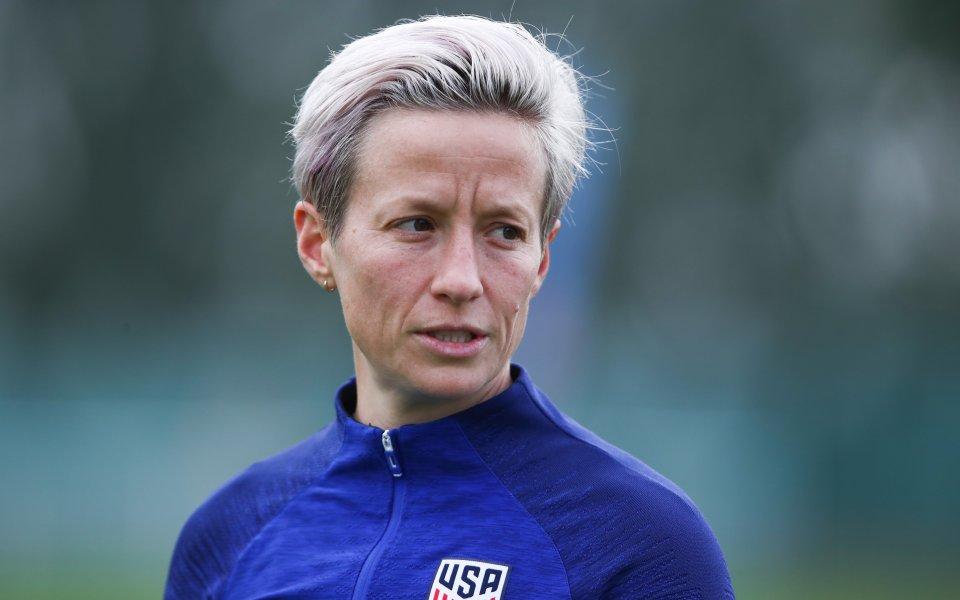 Президентът Доналд Тръмп обвини американската звезда на женския футбол Меган