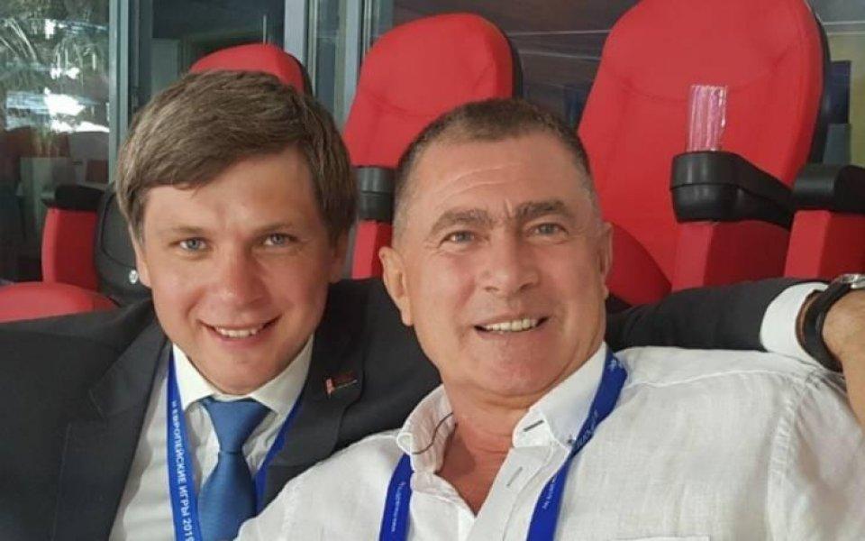 Първият вицепрезидент на Европейската атлетика Добромир Карамаринов получи поредното признание