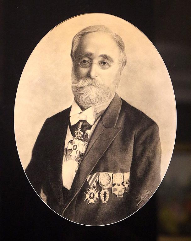 Павел Ташев Портрет на Йоаким Груев 1912г.